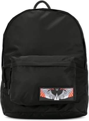 Marcelo Burlon County of Milan wings patch backpack