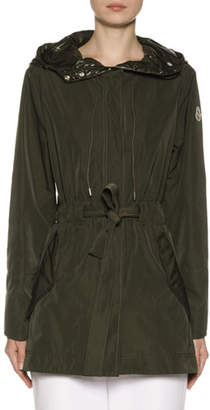 Moncler Mascate Semi-Fit Jacket w/ Contrast Hood