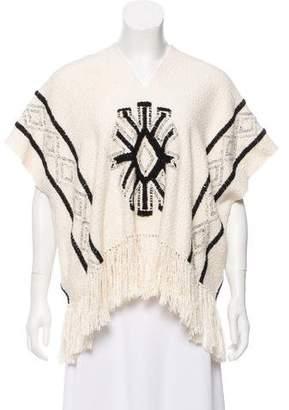 Ulla Johnson Fringe-Accented Crochet Knit Top