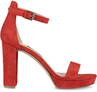 Nine West Leather Ankle-Strap Sandals