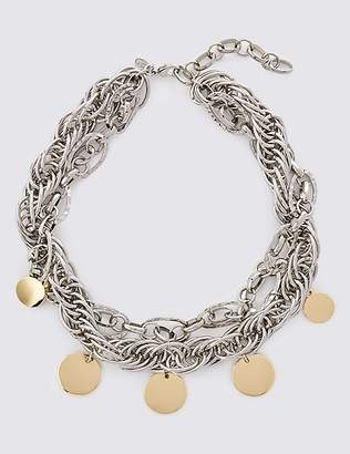 Marks and Spencer Charmy Chain Collar Necklace