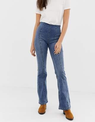 Free People slim kick flared jeans