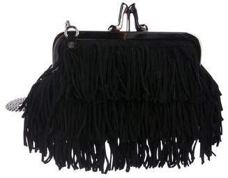 Christian Louboutin Jesse James Fringe Clutch