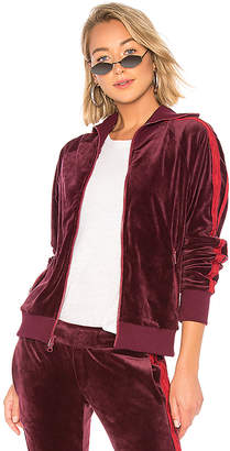 Pam & Gela x REVOLVE Collared Velour Track Jacket