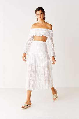 Suboo Off Shoulder Top - White