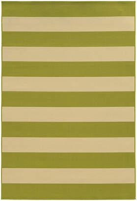 COVINGTON HOME Covington Home Cabana Stripes Rectangular Rug