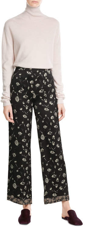 EtroEtro Wide Leg Printed Pants