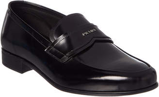 Prada Brushed Leather Loafer