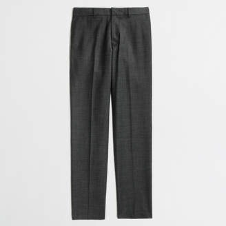 J.Crew Factory Slim Thompson suit pant in worsted wool