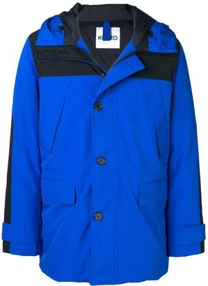 Kenzo padded rain coat