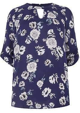 Yours Clothing Women's Plus Size Floral Woven Top