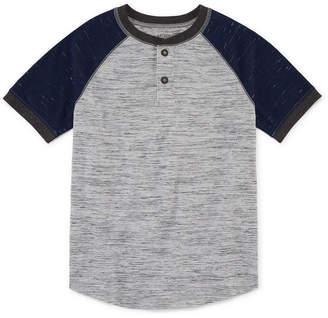 Arizona Short Sleeve Henley Shirt -Boys 4-20