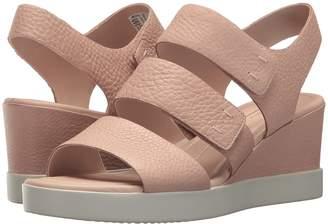 Ecco Shape Wedge Plateau Sandal Women's Sandals