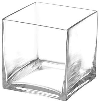 clear Royal Imports Flower Glass Vase Decorative Centerpiece for Home or Wedding Glass