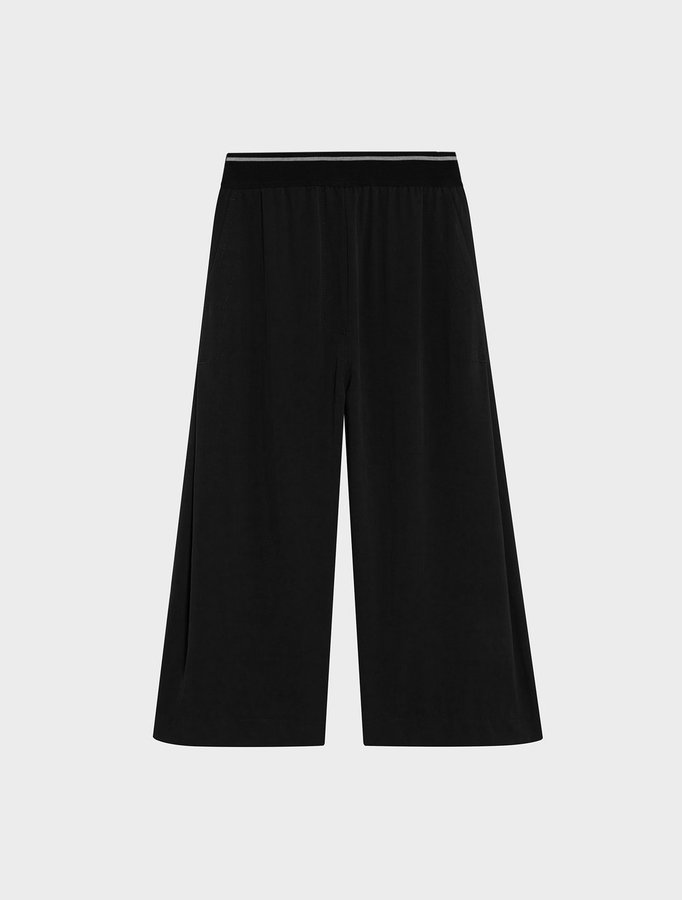 DKNYDkny Pure Pull On Crop Pant With Elastic Waistband