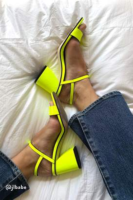 Fp Collection Liv Block Heel