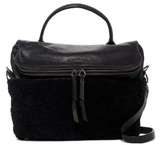 Liebeskind Berlin Oklahoma Leather & Genuine Shearling Satchel