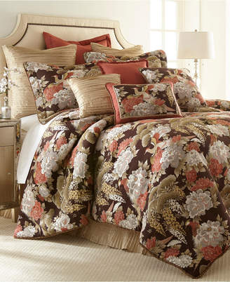 Austin Horn Collection Austin Horn Classics Paradise Peacock 3-piece Luxury Comforter Set Bedding
