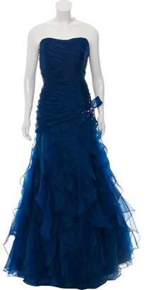 Jovani Strapless Embellished Dress