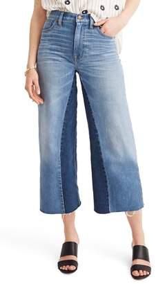 Madewell Gusset Crop Wide Leg Jeans