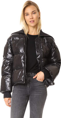 KENZO Cropped Down Jacket $825 thestylecure.com