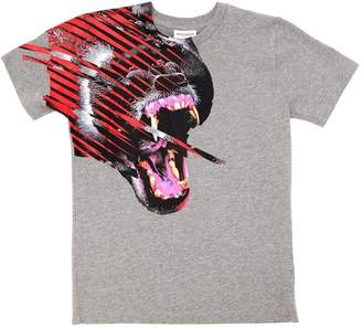 Marcelo Burlon County of Milan GORILLA コットンジャージーTシャツ