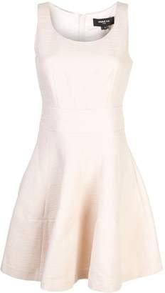 Paule Ka sleeveless flared mini dress