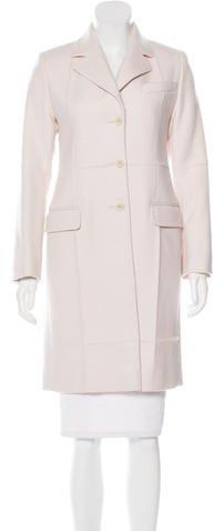 pradaPrada Knee-Length Wool Coat w/ Tags
