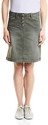 Cecil Women's 360222 Jenna Skirt,(Manufacturer Size: 34)