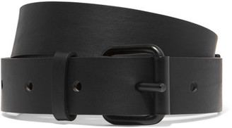 Haider Ackermann - Leather Belt - Black $315 thestylecure.com