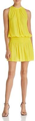 Ramy Brook Shirred Mini Dress