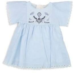 Chloé Baby Girl's Newborn Denim Dress