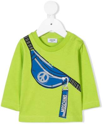 Moschino (モスキーノ) - Moschino Kids belt bag print top