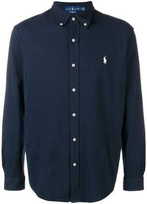 Polo Ralph Lauren logo patch longsleeved shirt