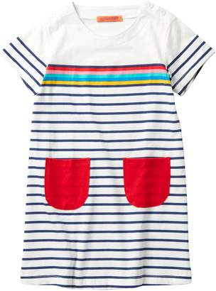Funkyberry Striped Dress (Toddler, Little Girls, & Big Girls)