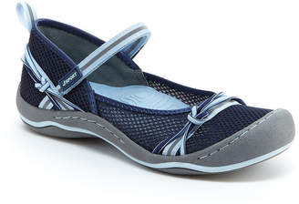 Jambu J Sport By Womens Misty Encore Mary Jane Shoes Hook and Loop Closed Toe