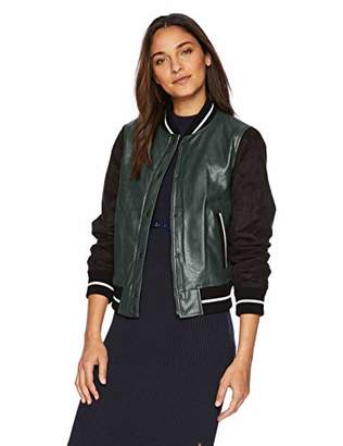 Levi's Women's Mixed Media Bomber Jacket