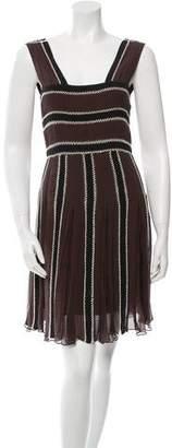 Temperley London Silk A-Line Dress