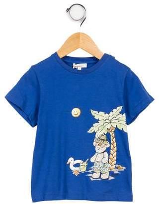 Gucci Boys' Printed Short Sleeve T-Shirt w/ Tags