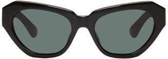 Dries Van Noten Black Linda Farrow Edition 166 C7 Sunglasses