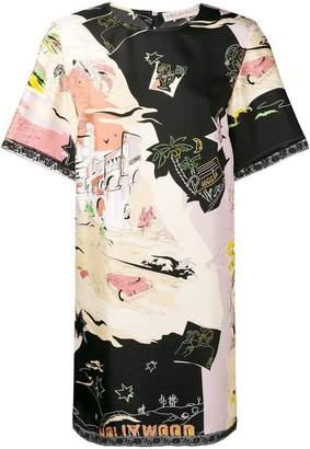 Emilio Pucci Hollywood prints dress