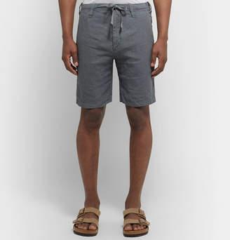 Hartford Boy Slim-Fit Linen Drawstring Shorts