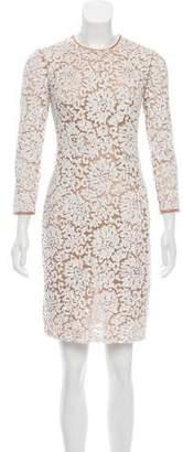 Michael Kors Long Sleeve Sequin Dress