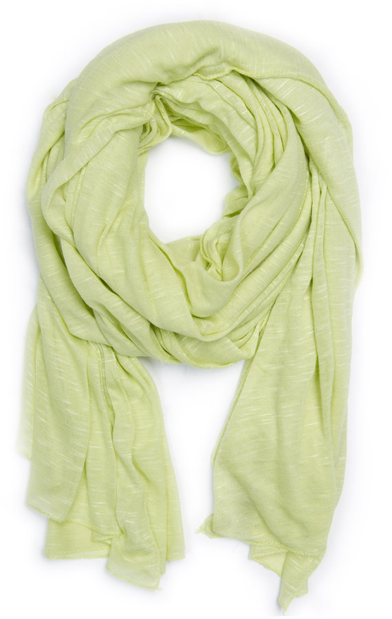 Sheer fabric scarf