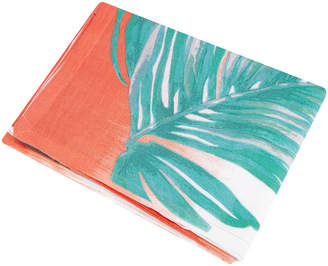 Saint Tropez Marinette Borabora Tablecloth - Coral/Jade Green - 160x260cm