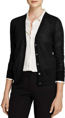 Theory Sweater - Wool Cardigan $235 thestylecure.com