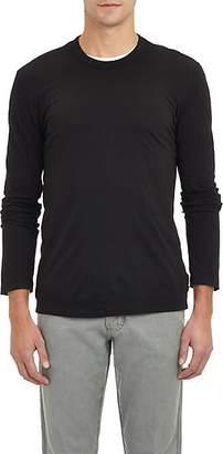 James Perse Men's Jersey Long Sleeve T-shirt - Black