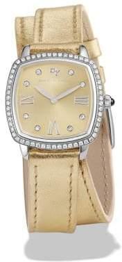 David Yurman Albion Diamond& Stainless Steel Watch