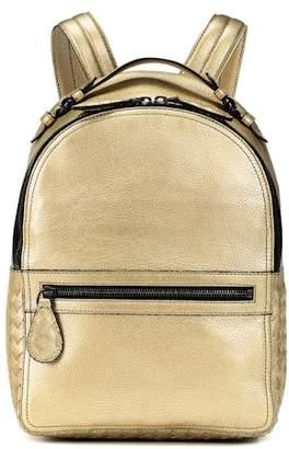 0589a31f59 Bottega Veneta Electre metallic leather backpack