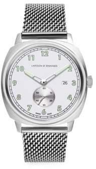 Larsson & Jennings Meridian Brushed Silver Bracelet Watch